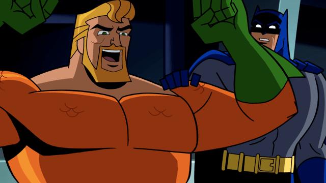 Aquaman and Batman