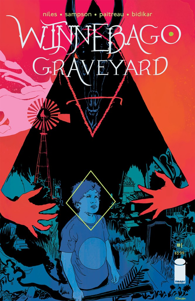 Winnebago Graveyard #1 cover by Alison Sampson