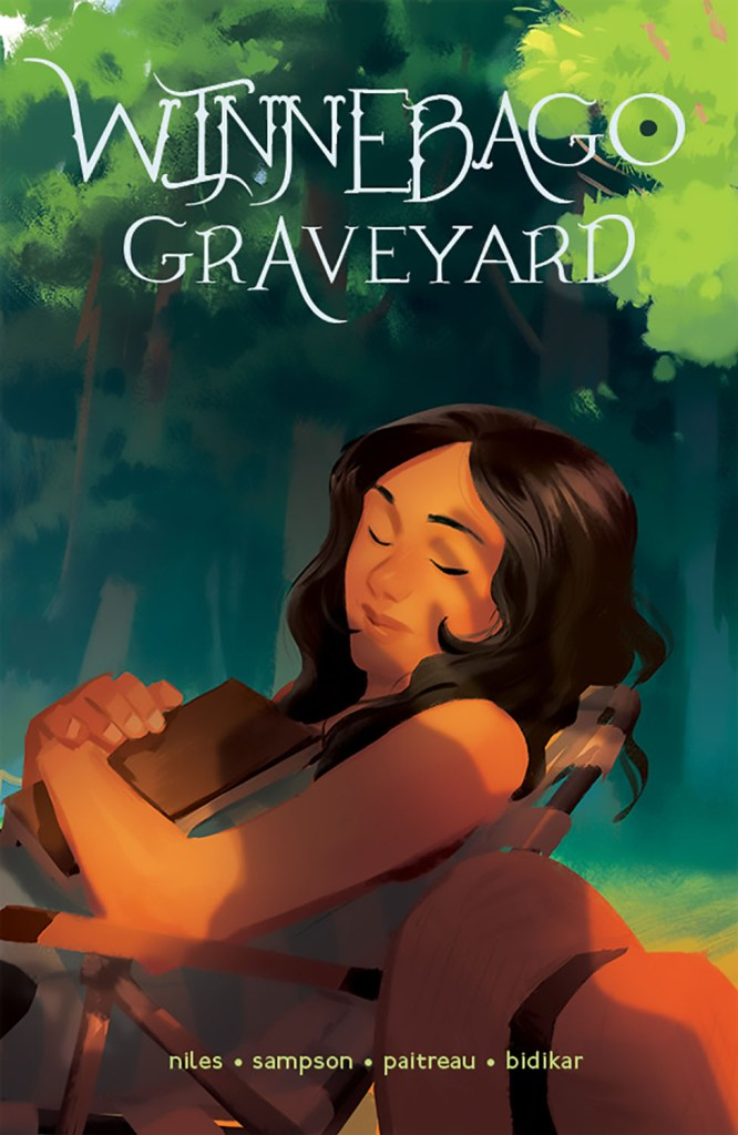 Winnebago Graveyard #1 variant cover by Mingjue Helen Chen