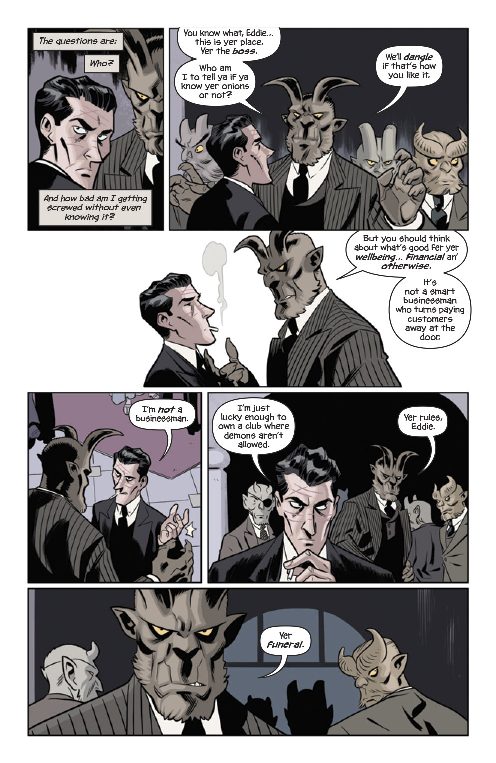 The Damned #1 preview page 8