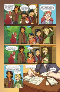 Lumberjanes #37 preview page