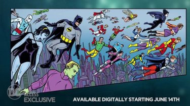 Batman '66 meets the Legion of Super-Heroes