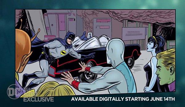 Batman '66 meets the Legion of Super-Heroes