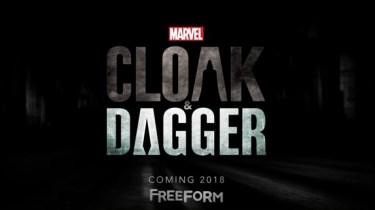 Marvel's Cloak and Dagger logo