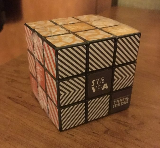 Rubik's Cube from Syracuse University College of Visual and Performing Arts
