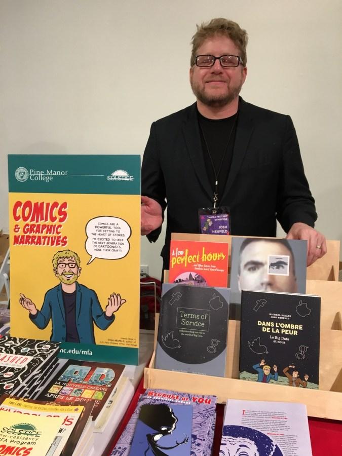 Josh Neufeld at MoCCA Fest 2017