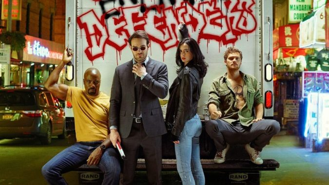 Defenders cast image