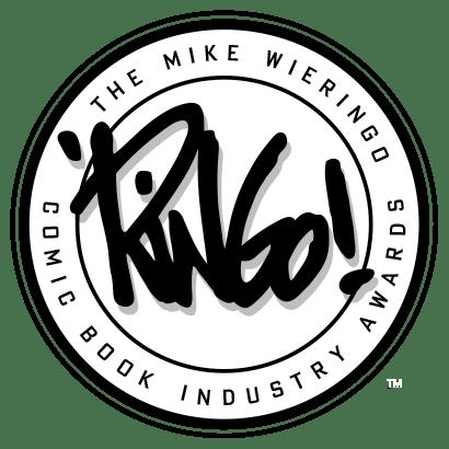 Mike Wieringo Comic Book Industry Awards logo