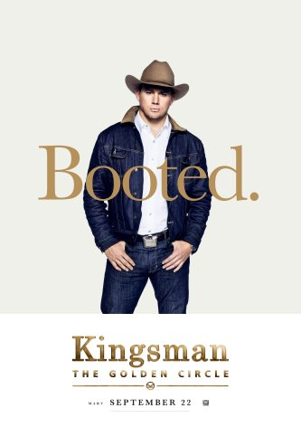 Channing Tatum in Kingsman: The Golden Circle