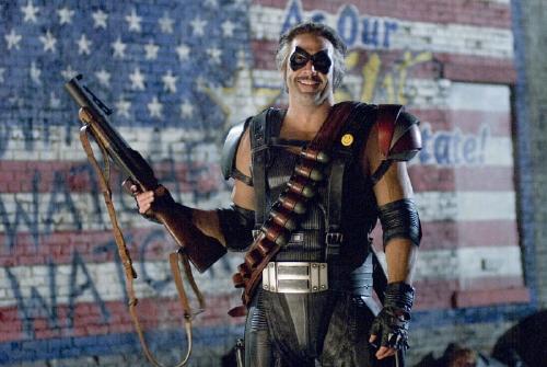 Jeffrey Dean Morgan as the Comedian