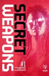 Secret Weapons #1 cover by Raúl Allén