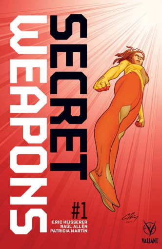 Secret Weapons #1 subscription variant cover by Clayton Henry