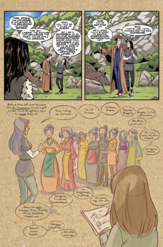 Doctor Who: The Tenth Doctor Year Three #6 preview page 4