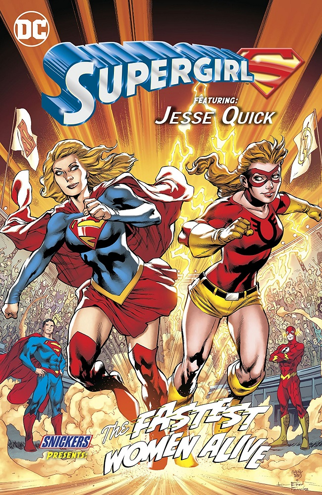 Snickers Comic #2: The Fastest Women Alive (with Supergirl and Jesse Quick)