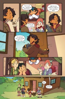 Lumberjanes #41 preview page