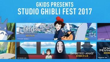 Studio Ghibli Fest banner