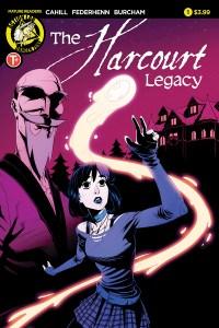 The Harcourt Legacy #1 cover by Jason Federhenn
