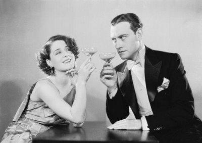Norma Shearer, party girl, in The Divorcee