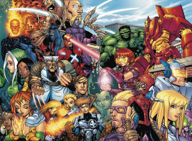 Marvel Mangaverse Complete Collection