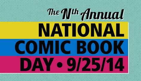 National Comic Book Day 2014