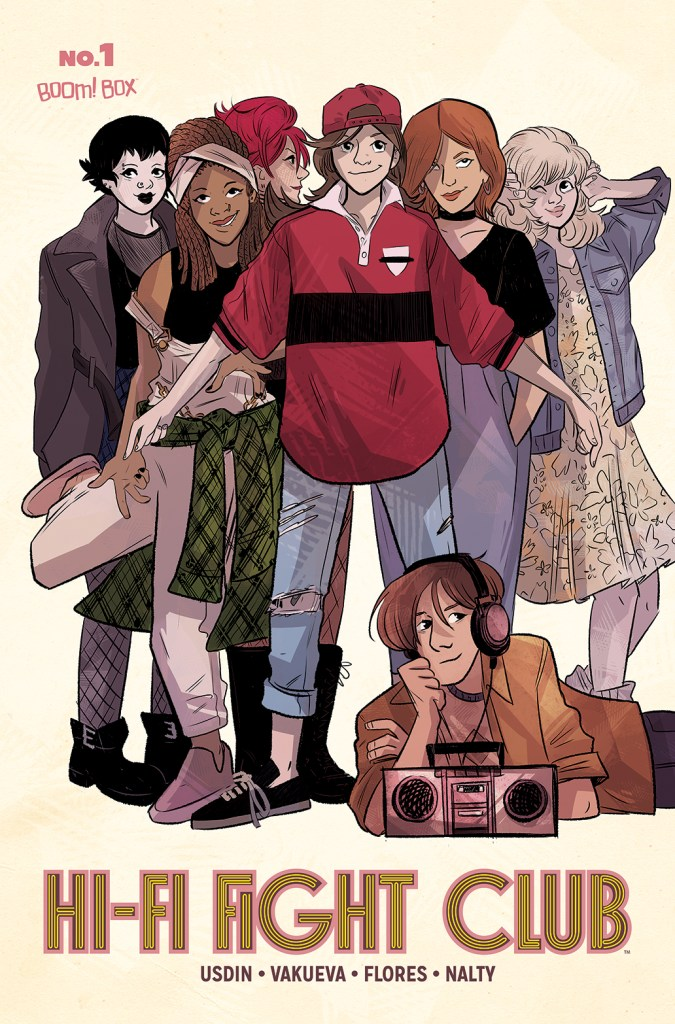Teen Movie Homage Subscription Variant Cover by Brooke Allen