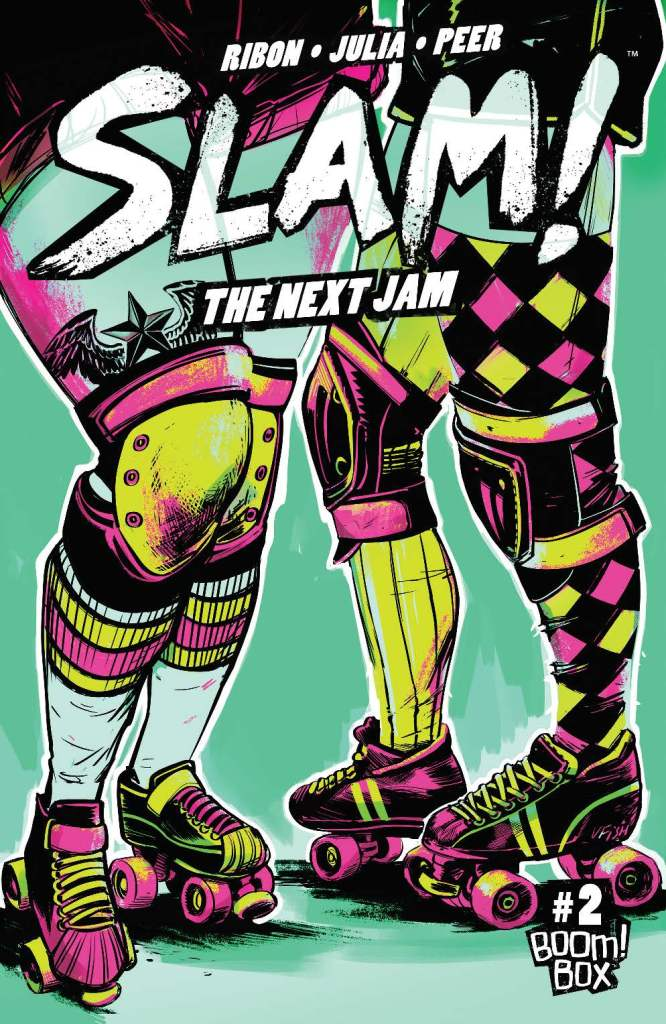 Slam!: The Next Jam #2 cover by Veronica Fish