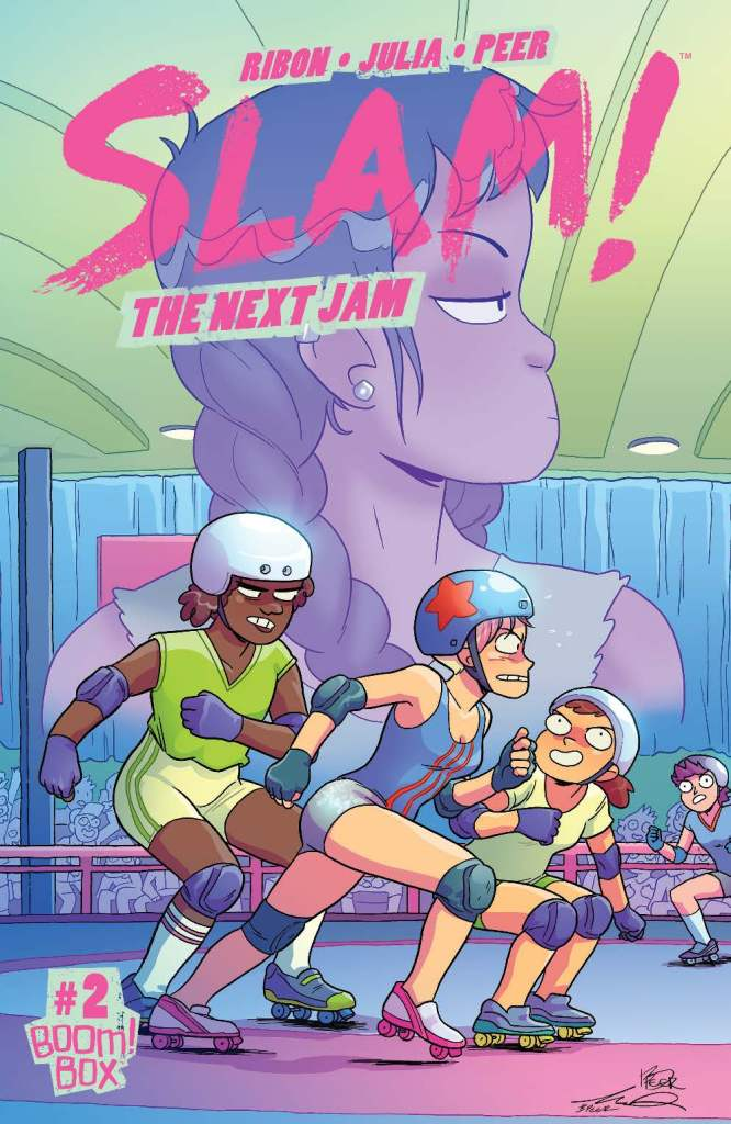Slam!: The Next Jam #2 subscription cover by Meredith Gran