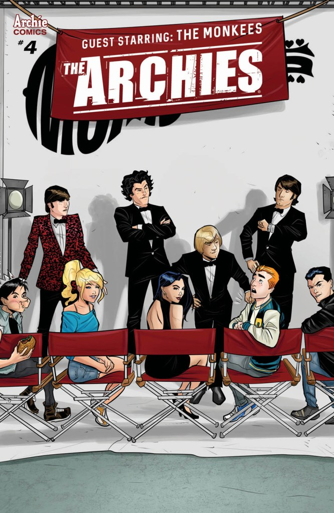 The Archies #4 cover by Joe Eisma