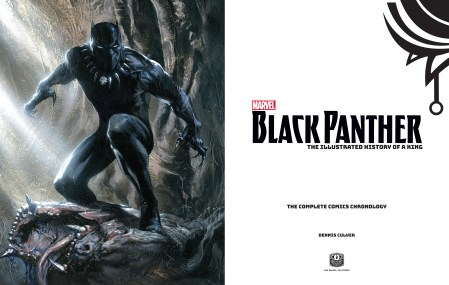 Marvel's Black Panther: The Illustrated History of a King