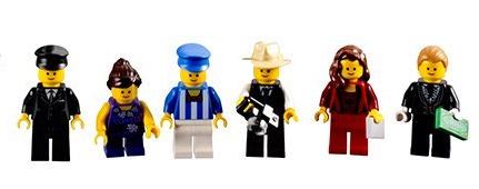 Lego Palace Cinema minifigures