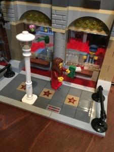 Lego Palace Cinema ticket window