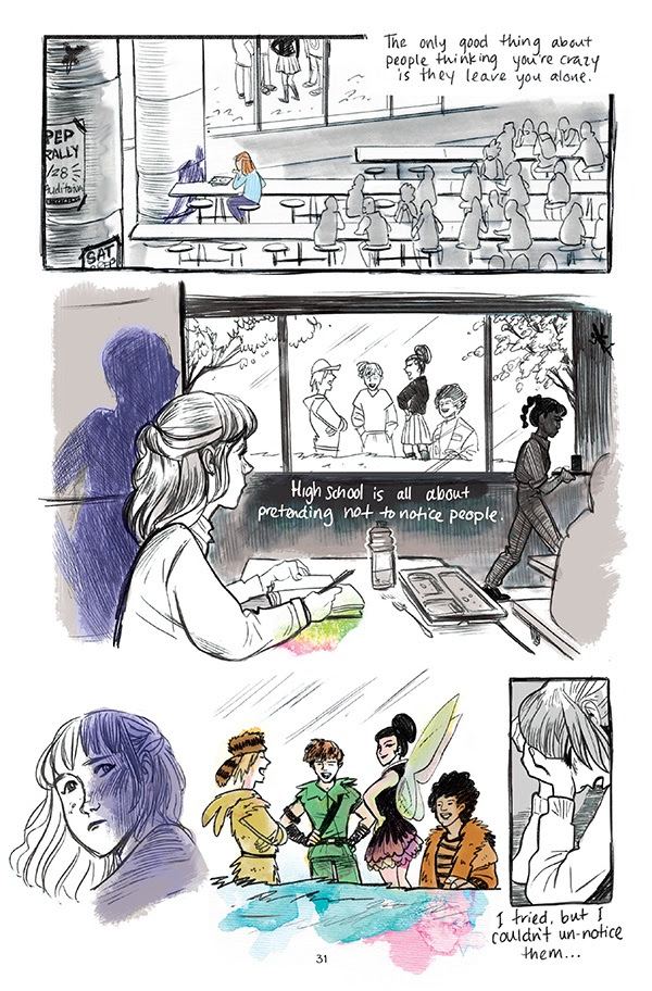 Page from The Wendy Project by Veronica Fish