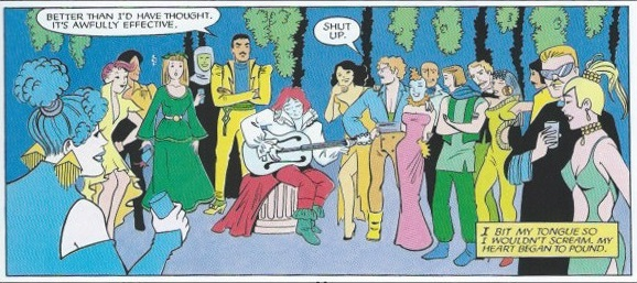Sample panel from The Silver Metal Lover