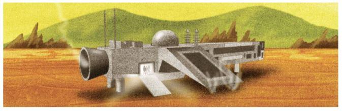 Uninhabitable panel by Jed McGowan