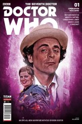 Doctor Who: The Seventh Doctor #1 photo cover by Will Brooks