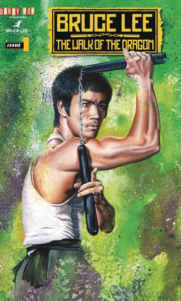 Bruce Lee: The Walk of the Dragon cover by John Haun