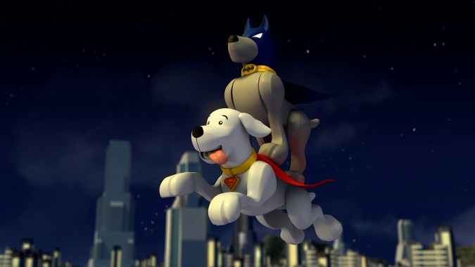 Super pets in Lego DC Super Heroes: The Flash