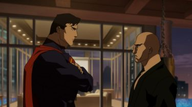 Superman vs. Lex Luthor in The Death of Superman