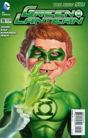 Green Lantern #19 cover by Mark Fredrickson