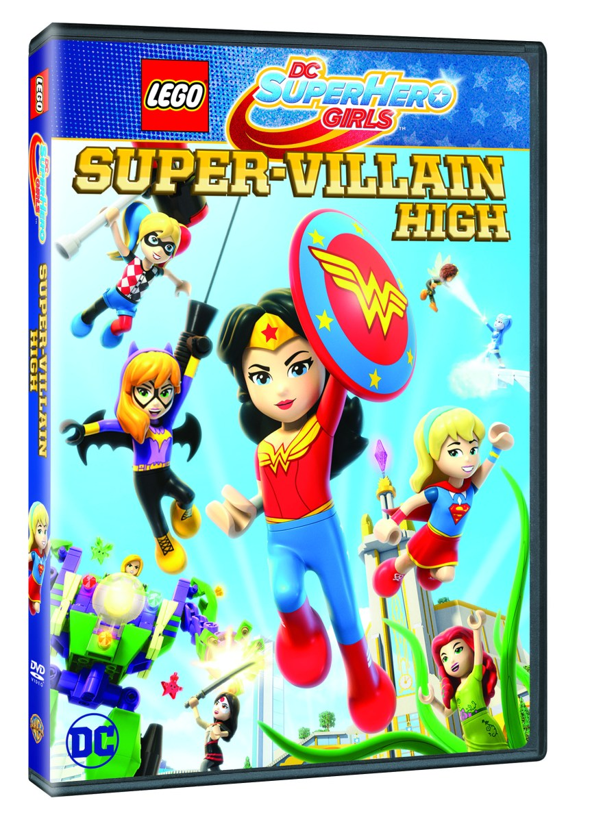 Second DC Super Hero Girls Lego Movie Coming This Spring