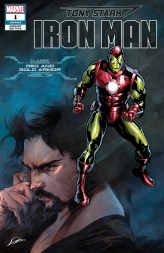 Classic Red and Gold Armor Variant Cover - Tony Stark Iron Man #1