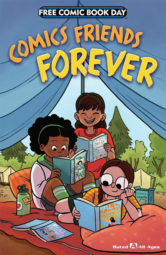 Comics Friends Forever