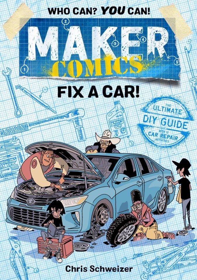 Maker Comics: Fix a Car!