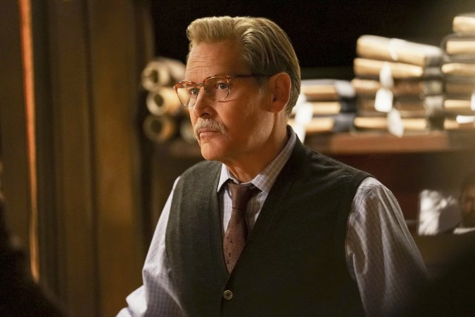 Gambi (James Remar) on Black Lightning