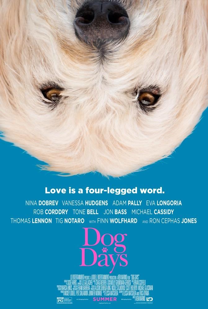 Dog Days Teaser Poster - Charlie