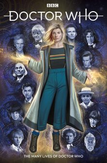 Doctor Who: The Thirteenth Doctor #0 – The Many Lives of Doctor Who cover by Claudia Ianniciello