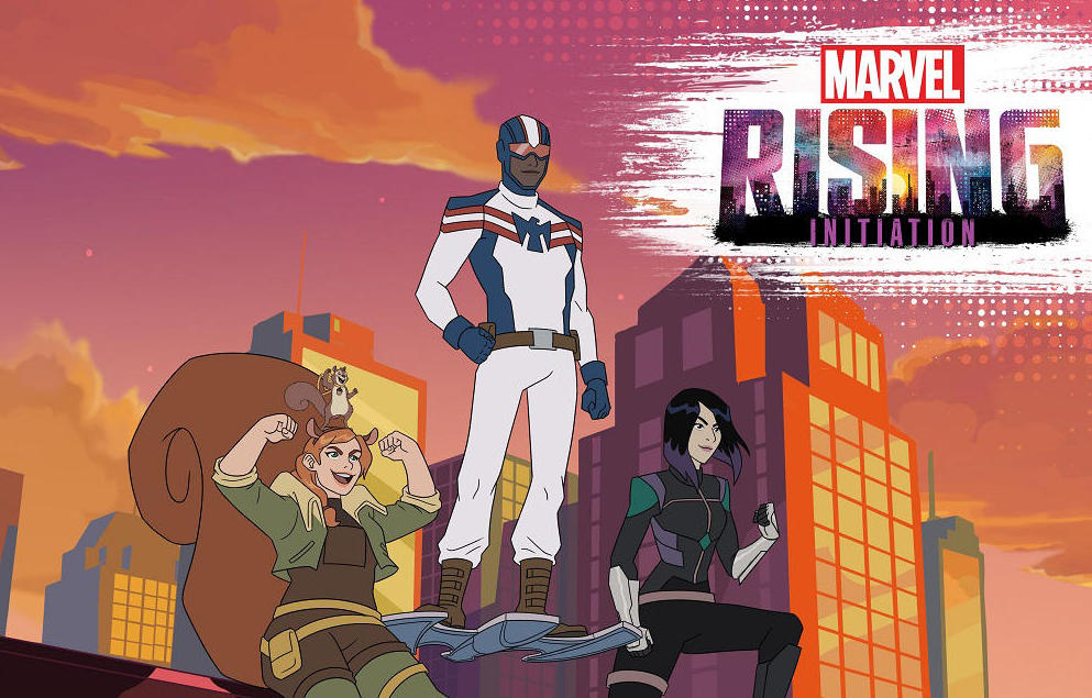Marvel Rising Trailer Does Something Different for Animation