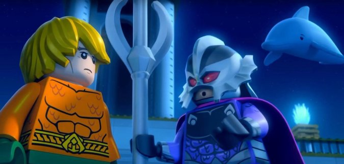 Aquaman and Ocean Master in Lego DC Comics Super Heroes: Aquaman: Rage of Atlantis