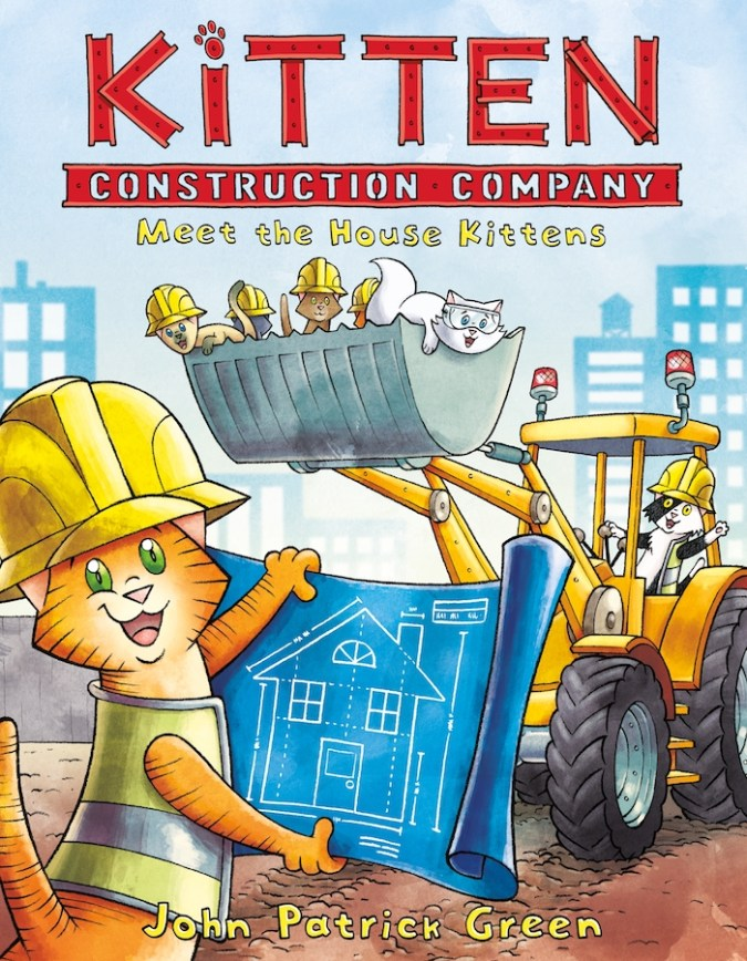 Kitten Construction Company by John Patrick Green
