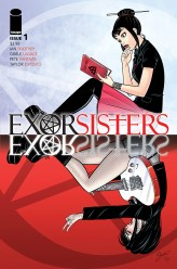 Exorsisters #1 cover A by Gisèle Lagacé